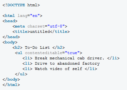 Tips and Tricks of HTML
